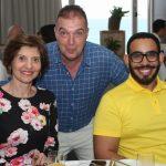 Fátima do Coutto, Bayard Boiteux e Gustavo Delesderrier