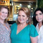 Gloria Severiano Ribeiro, Renata Fraga e Elda Monneratt