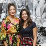 Helena Ribeiro e Livia Carvalho