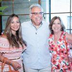 Marcia Romao, Franklin Toscano e Sylvia de Castro