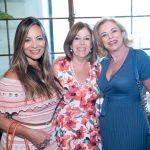 Marcia Romao, Sylvia Castro e Sueli Bedran