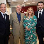 Maxime Tarneaud, David Zylberman, Laja Zilberman e Luciano Antunes