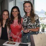 Milena Saraiva, Carol Filgueiras e Caroline Dias