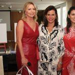 Nina Kauffmann, Narcisa Tamborindeguy e Carol Filgueiras