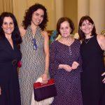 Adriana Vaccari, Jaciara Rodrigues, Rosa Célia Barbosa e Isabela Rangel