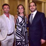 Giovane Pasa, Carol Barreto e Horácio Errnani