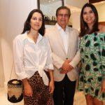 Patrícia Tremblais, José Roberto Almeida Neves e Monica Monnerat