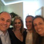 Paulo Hamilton Siqueira Junior, Anna Paula Rudge, Renata Ribeiro e Jose Horacio Ribeiro