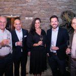 Paulo Nicolay, Erich Buschle, Elaine de Oliveira, Breno Paquelet e Celio Alzer
