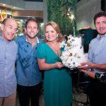 Paulo, Rafael, Renata e Roberto Fraga