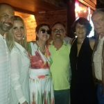 Ricardo Portilho, Isabela Francisco, Yacy Nunes, Christovam Chevalier, Eliana e Chico Caruso