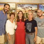 Sandro Mattos, Elisabete Vieira, Isabela Vieira e Everaldo Vieira e Julio Lopes