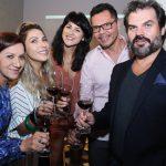 Suely Bombiere, Ilande Lima,Ana Maria Carvalho, Marcelo Araujo e Cristiano Manssur