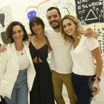 Suzana Pires, Danni Suzuki, Tulio Dek e Daniela de Sá