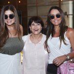 Ana Lúcia Santana, Micheline Thomé e Maria Leide Terra