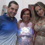 Beto Pitigliani, Carmen d`Alessio e Luciana Gomes