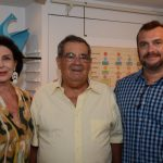 Carmen Silvia Peltier, Humberto Tanure e Marcos Scorzelli