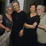 Guida Vianna, Analu Prestes, Stela Freita e Pedro Paulo Rangel