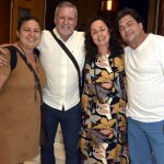 Cristina Leite, Cédric Gottesmann, Alessandra Reis e Fernando Philbert