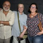 Mario Borges, Luiz Arthur Nunes e Andréa Pacha