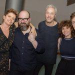 Debora Bloch, Felipe Hirsch, Guilherme Weber, Renata Gaspar e Jefferson Schoeder