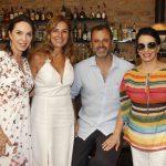 Esther Schattan, Monica Gervasio, Erick Figueira de Mello e Ana Maria Indio da Costa
