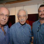 Evandro Carneiro, Carlos Camargo e Marcos Scorzelli