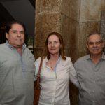 Francisco Romero, Cecília Carvalho e Evandro Carneiro