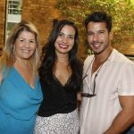 Juliana Galvão, Paula Costa e Carlos Carvalho
