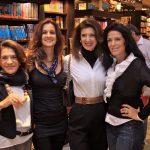 Marlene com a neta Gigi Richter e as filhas Fernanda Basto e Paula Cleophas