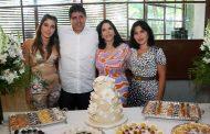 Marilene Gomes de Mattos comemora aniversário no Restaurante Tragga