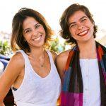 Roberta Ribeiro e Caroline Moraes