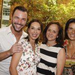 Rodrigo Beze, Esther Schattan,Patricia Quentel e Vanessa Borges