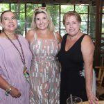 Thyna Mendes, Tayana Ruiz e Regina Celia