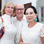 Tiziani Grilli, Paulo Muller e Miriam Galiard