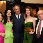Marlene Rodrigues com seu querido Antonio e os filhos Paula, Antonio da Graça e Fernanda