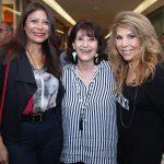 Jassy Oliveira ,Micheline Thomé e Terezinha Sodré