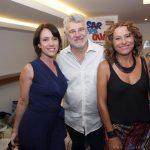 Bel Kutner, Tadeu Aguiar e Adriana Nunes