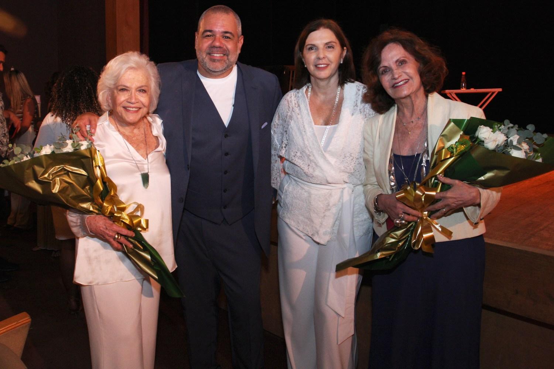 Cinquenta  anos do empresário  Marcus Montenegro é comemorado no Teatro Fashion