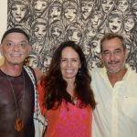 Bayard Tonelli, Beth Modesto e Jorge Barata