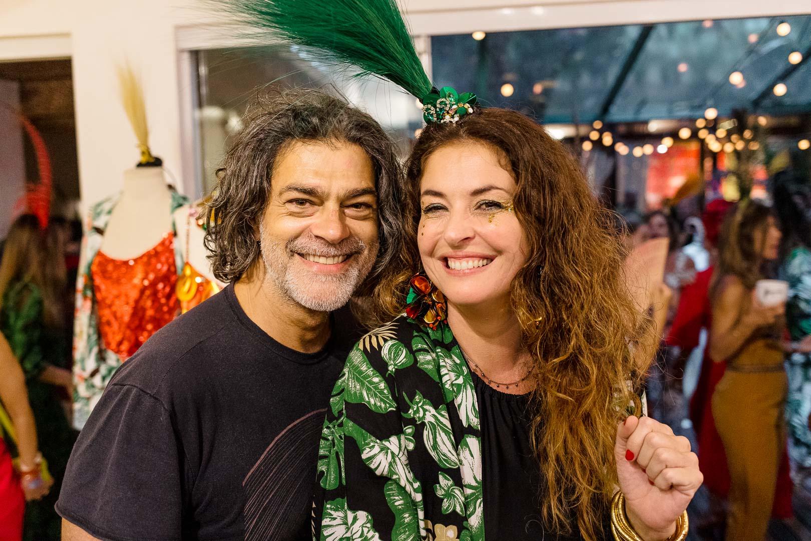 Roda de samba marca lançamento de coleção carioca