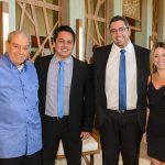 Carlos Fernando Carvalho, Rodrigo Ataide, Igor Koury e Melissa Giglio