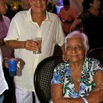 Zeca com mãe Irinéia Silva