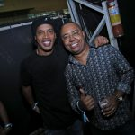 Ronaldinho Gaúcho e Dudu Nobre
