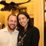Marcelo Fernandes , diretor geral do CCBB e Karen Machado gerente executiva do CCBB