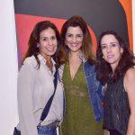 Maristela Carvalho, Cris Velasco e Patrícia Barcellos