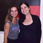 Fernanda Sattamini e Dominique Valansi