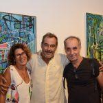 Rachel Sabbagh, Jorge Barata e Ricardo Becker