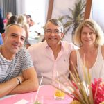 Riccardo Mangione, Paulo Miragjia Del Giudice e a mulher Andrea Trifunovits