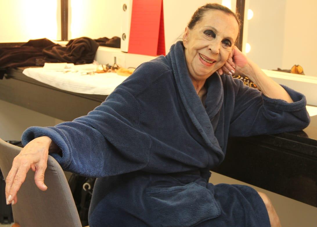 """Ex-solista do Ballet Bolsh, Marilena Ansaldi faz participação especial no espetáculo """"Depois"""""""